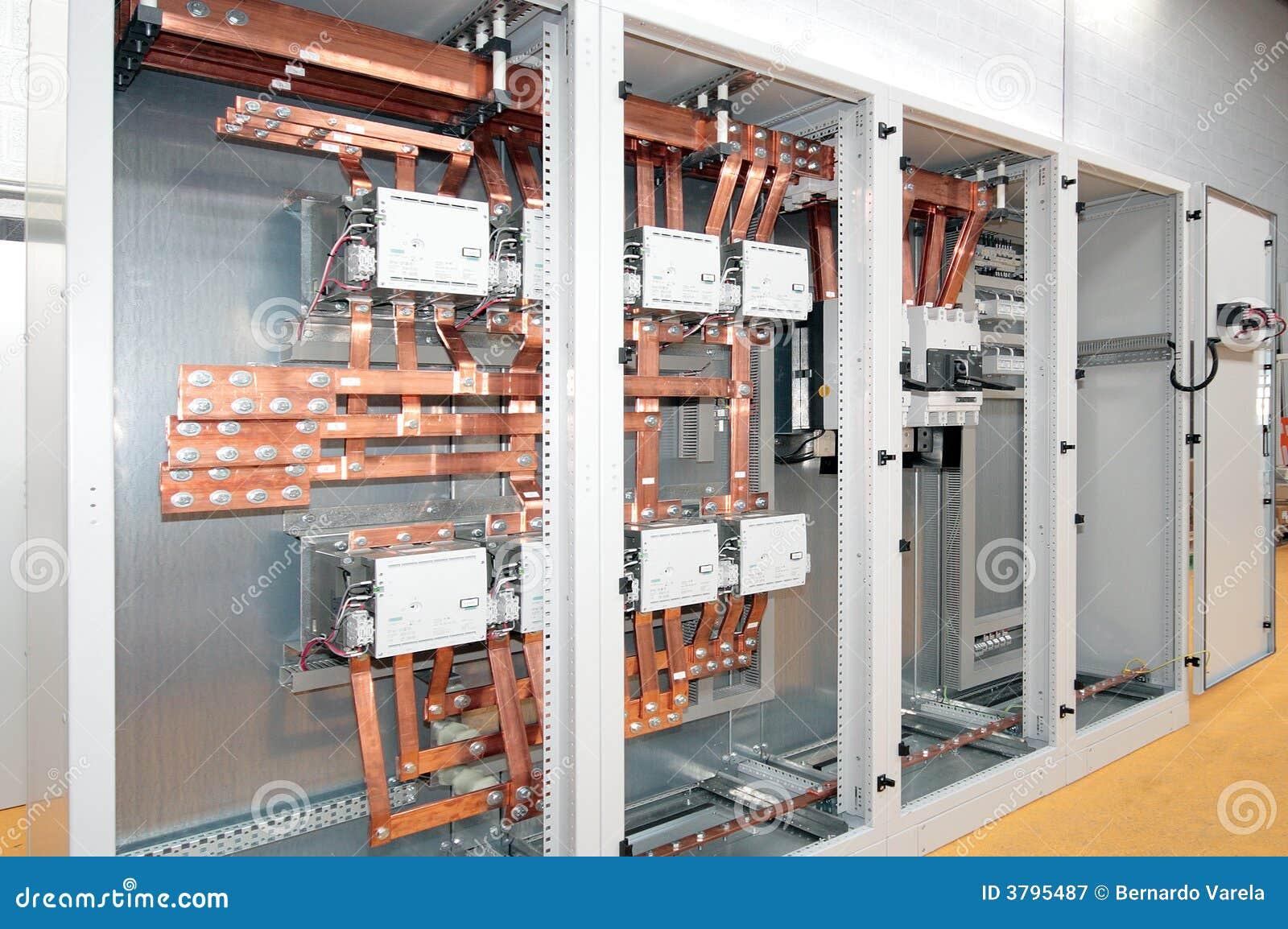 Switchboard för elektrisk ström