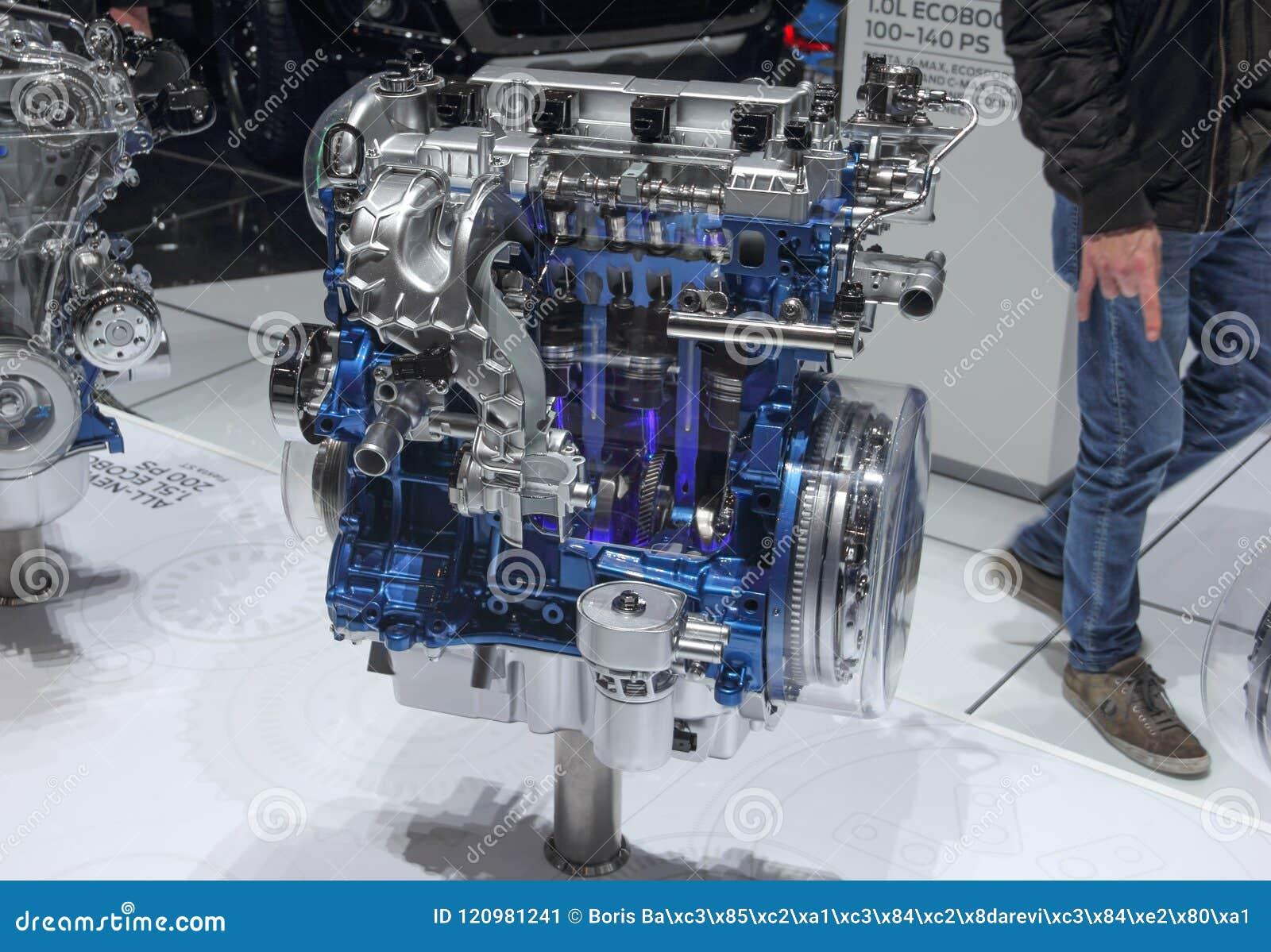 2.0 L Ecoboost >> Switzerland Geneva March 8 2018 The Ford 2 0l Ecoboost