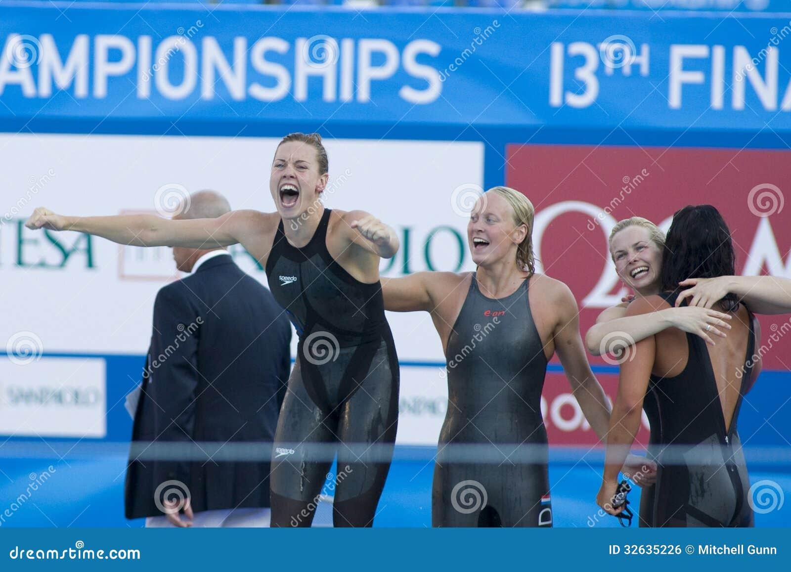 SWM: World Aquatics Championship - Womens 4 X 100m ...