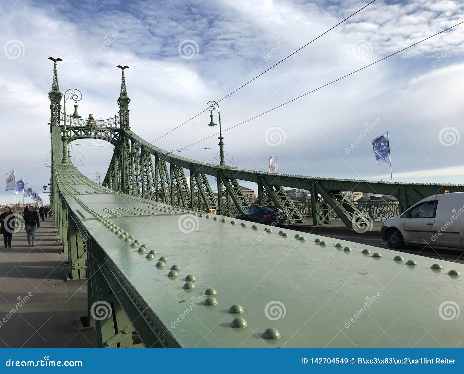 Swoboda most, Budapest, Węgry