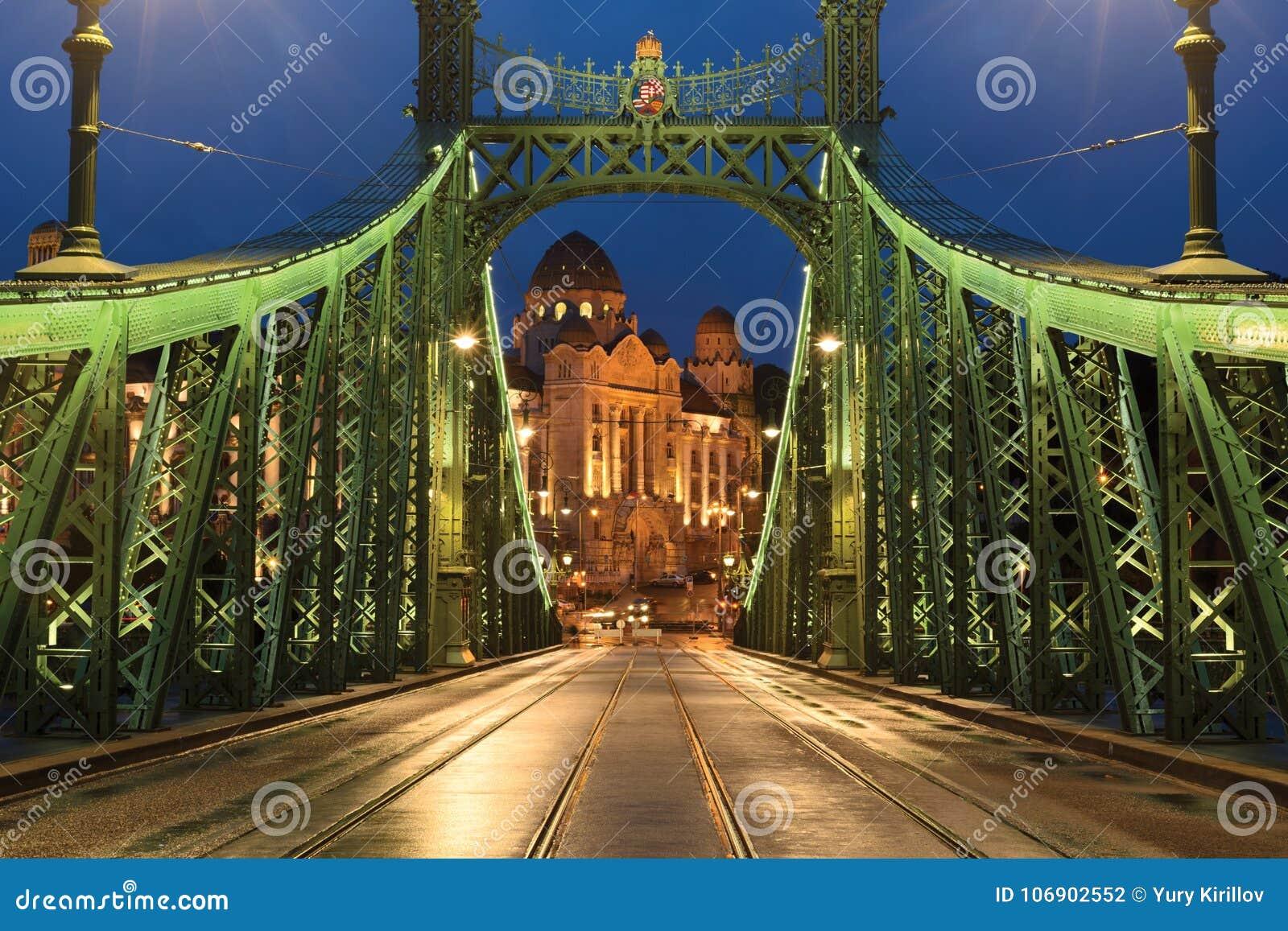 Swoboda most, Gellert hotel i skąpanie,