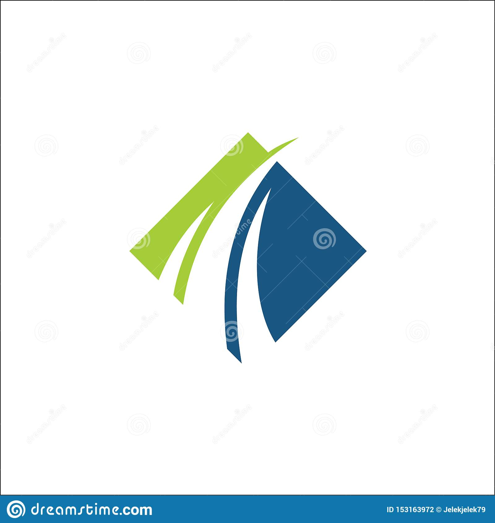 Swoosh för mall för finansiell logovektor konsulterande