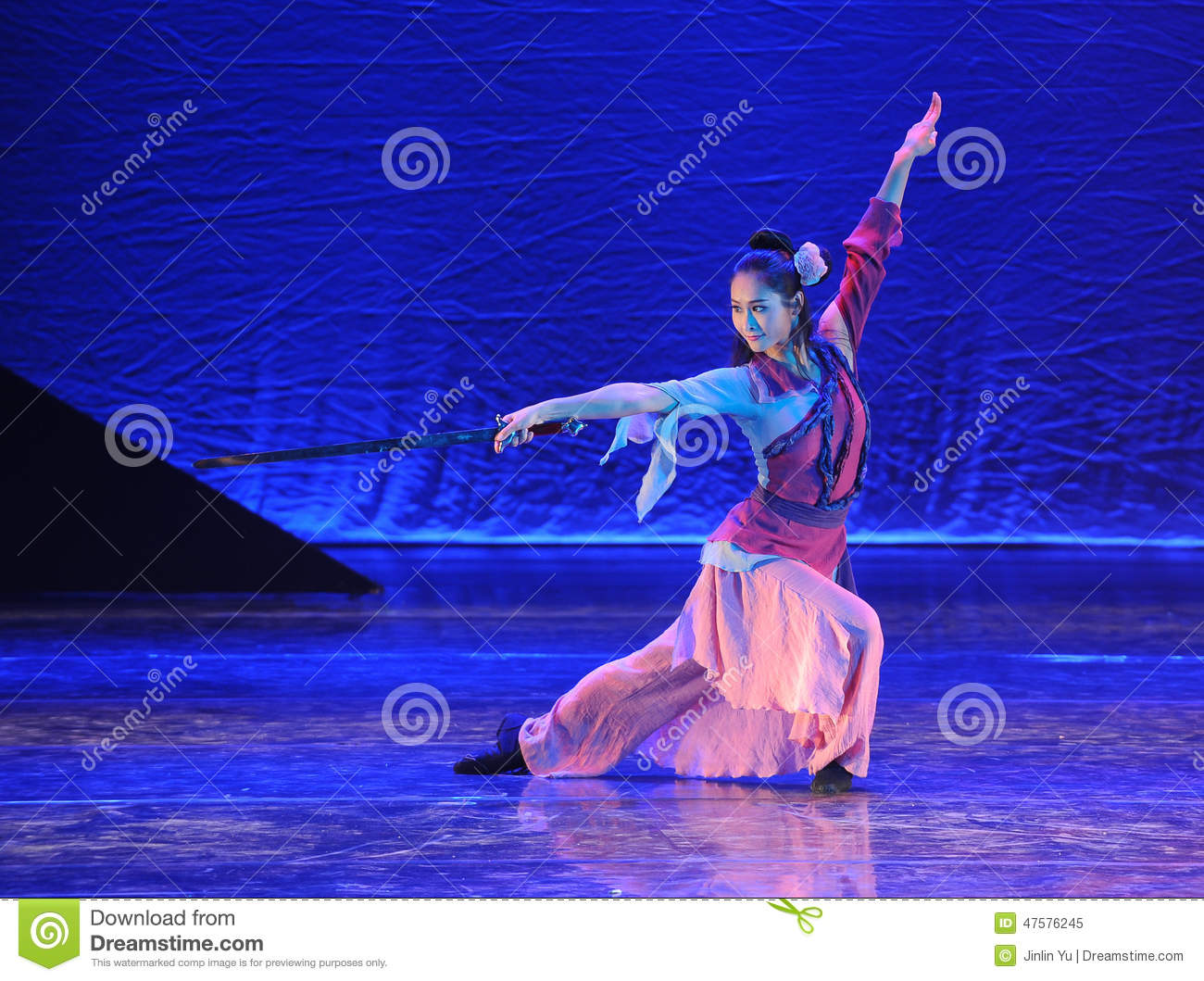 The Sword Dance-The Dance Drama The Legend Of The Condor