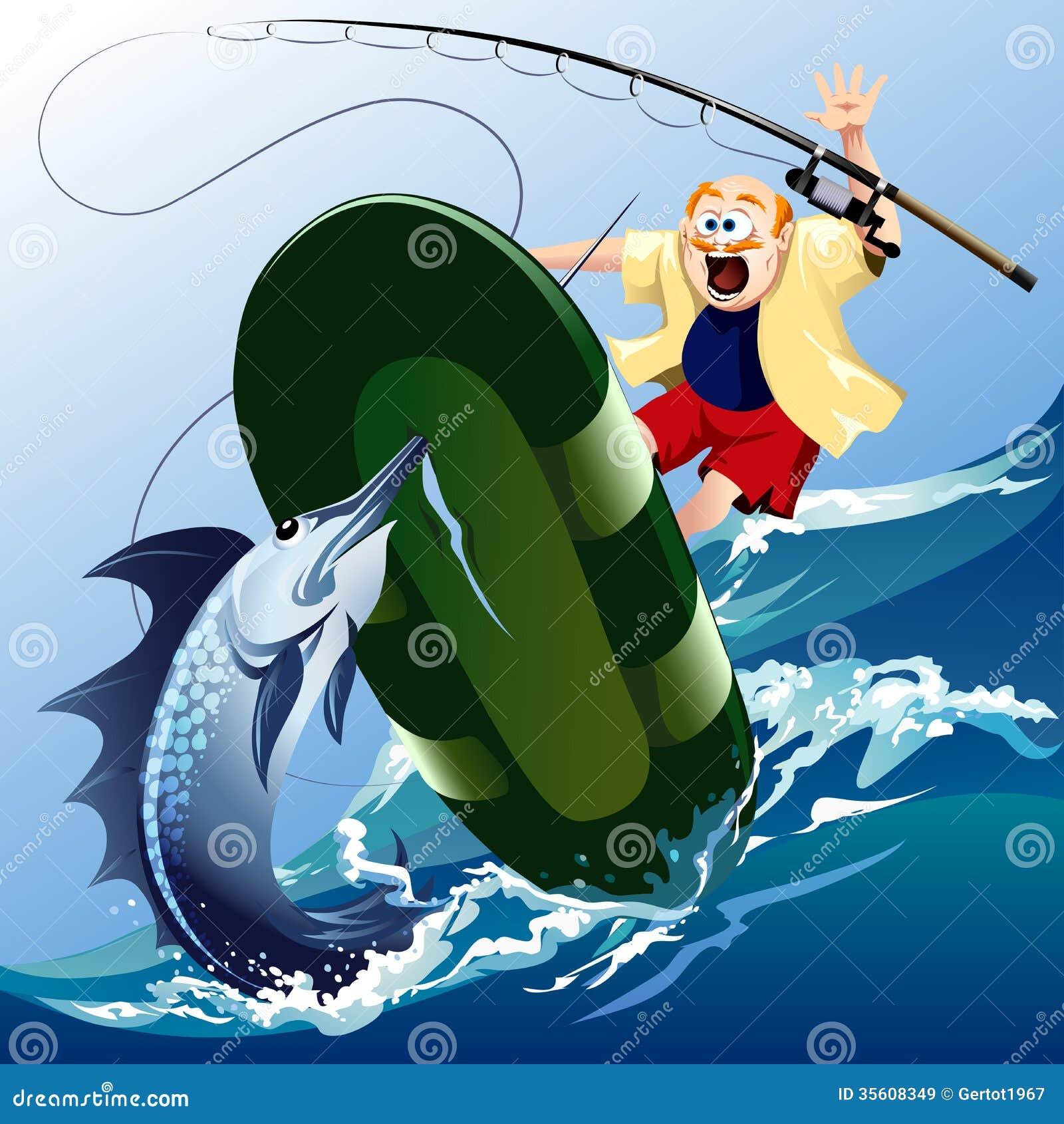 рисунок щуки на лодку