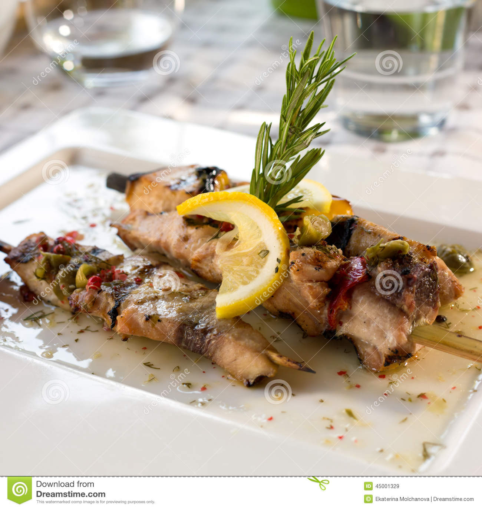 Swordfish Fillet Stock Photo - Image: 45001329