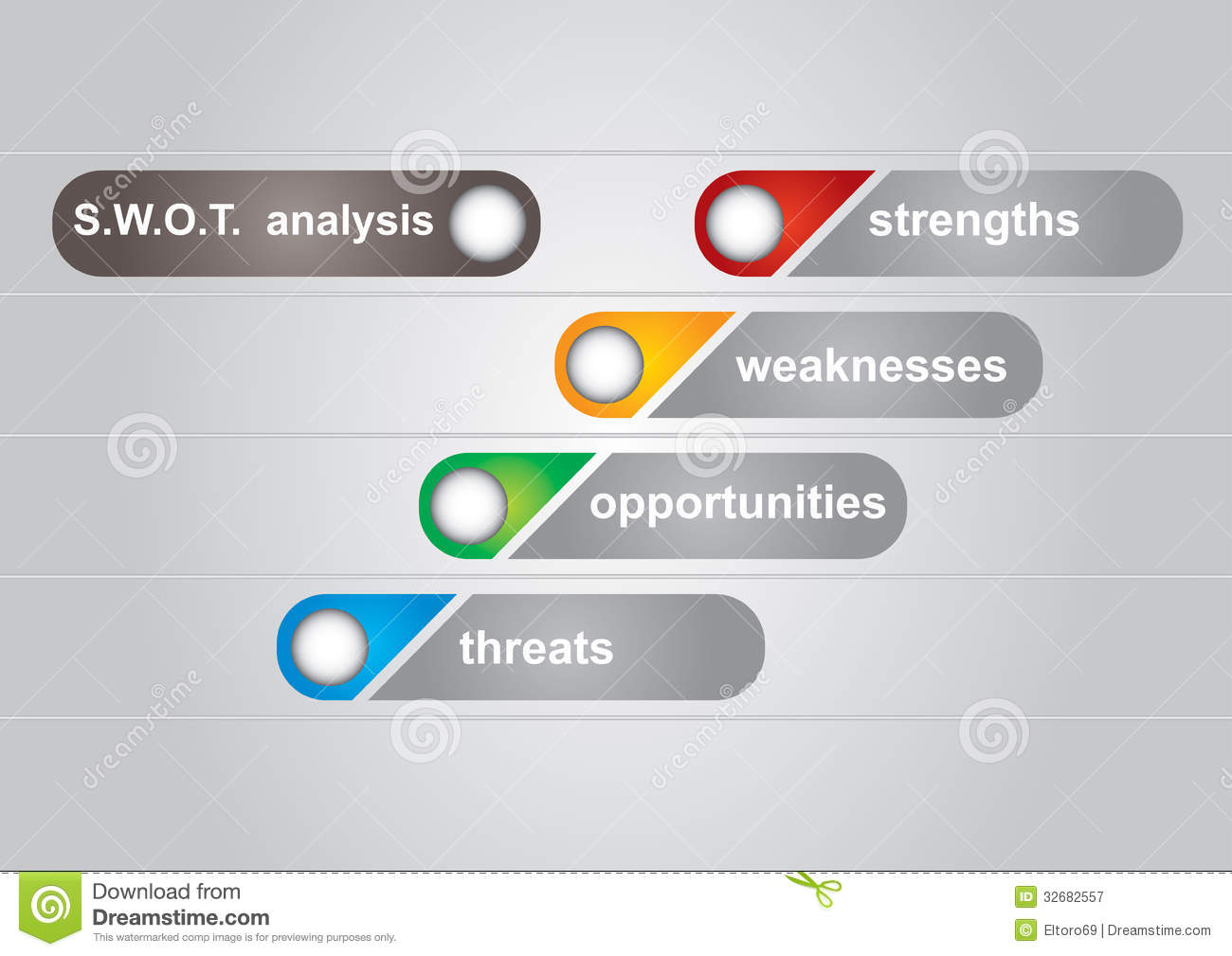 swot analysis diagram royalty free stock photography   image    swot analysis diagram