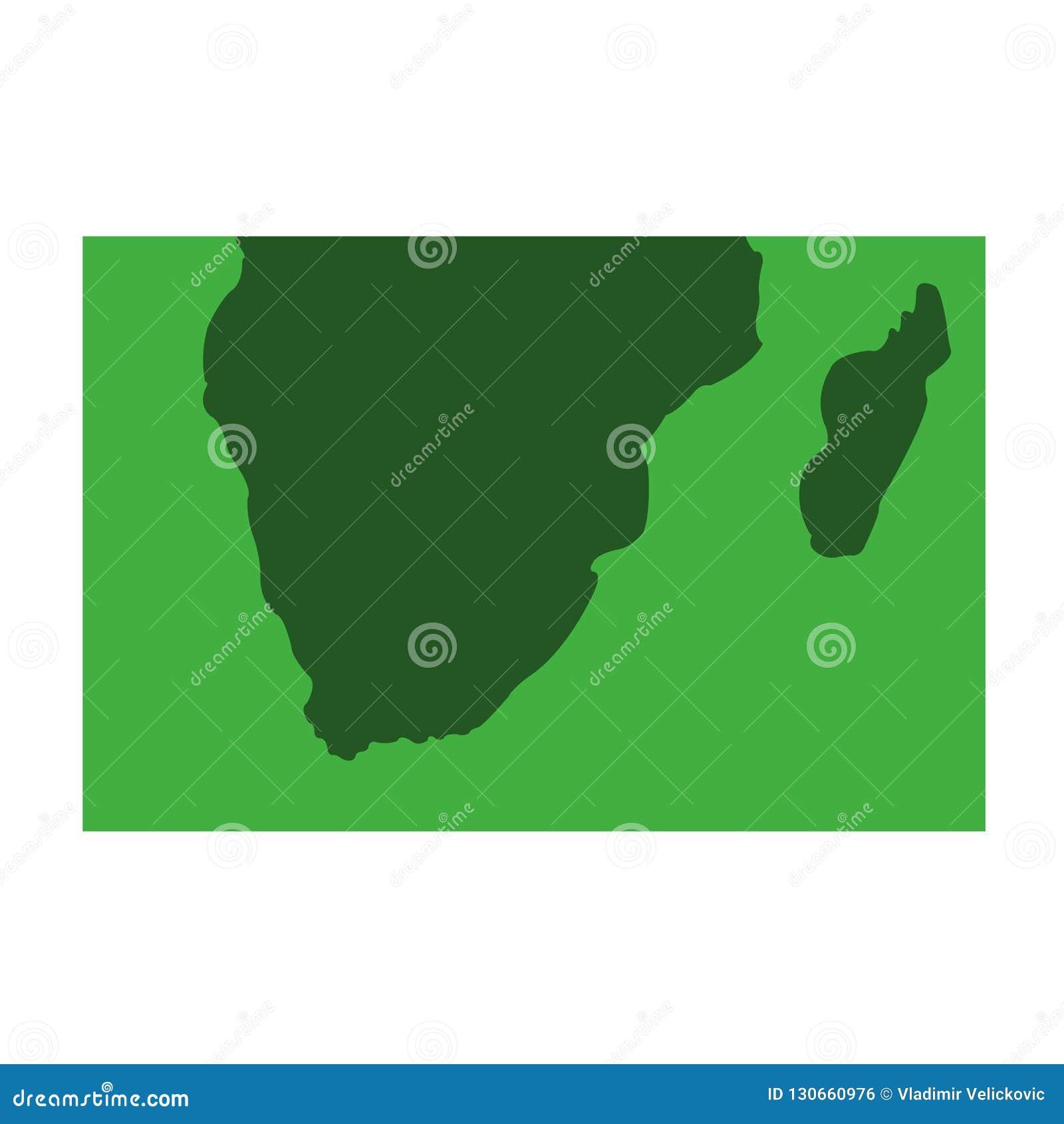 Sydafrika - kontinentAfrika översikt