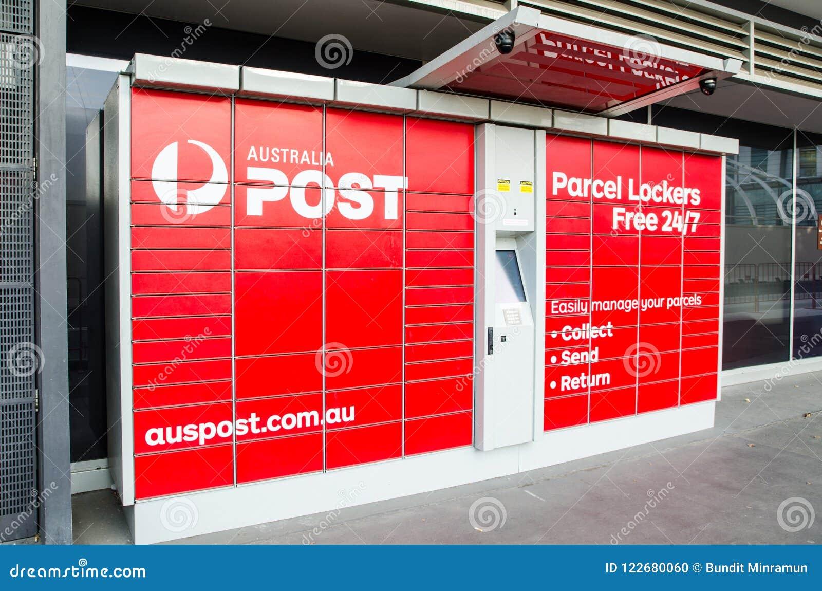Australia Post Parcel Lockers For Collecting, Sending