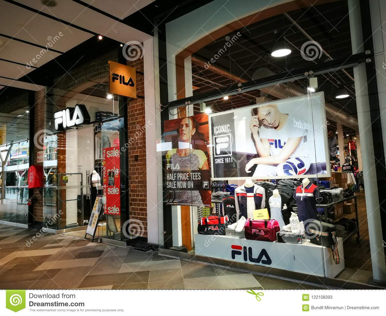 FILA Sportswear, Tennis Apparel, Shoes & Accessories Retail ...