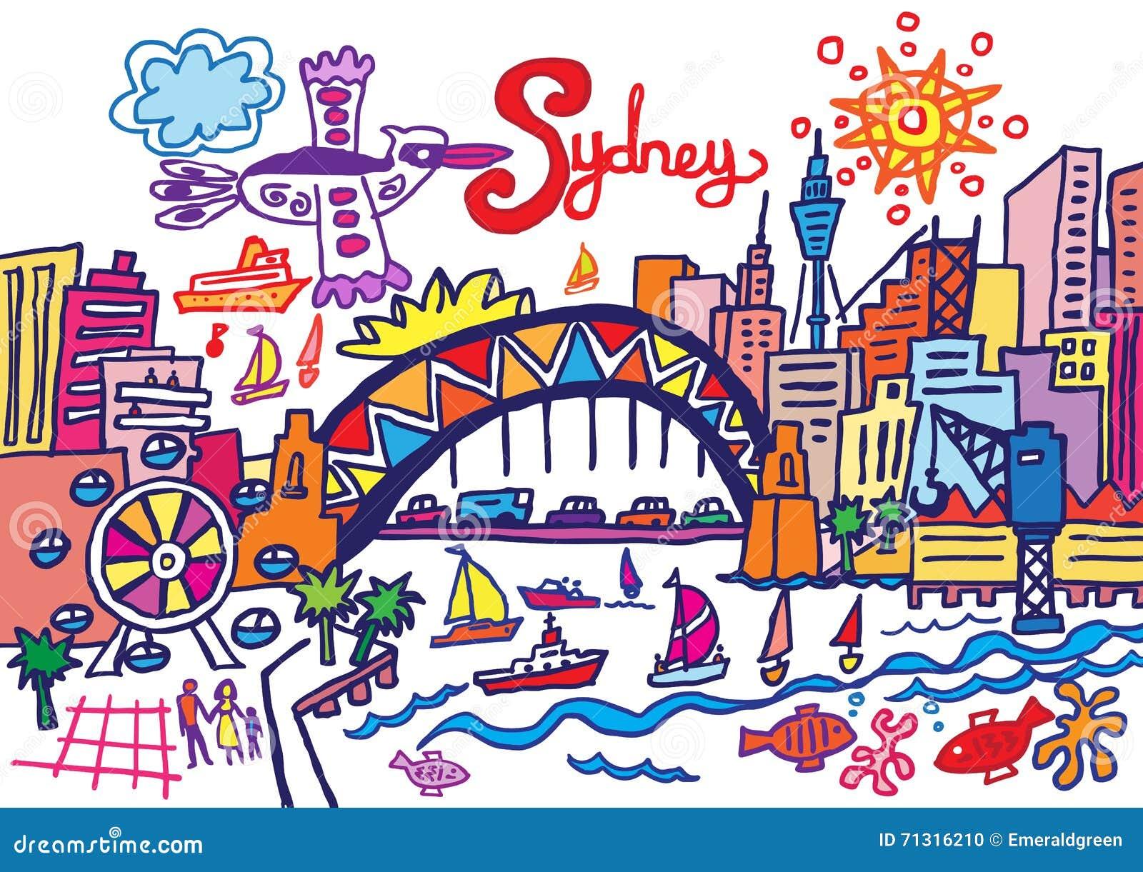 Sydney Cartoons, Illustrations & Vector Stock Images - 851 ...