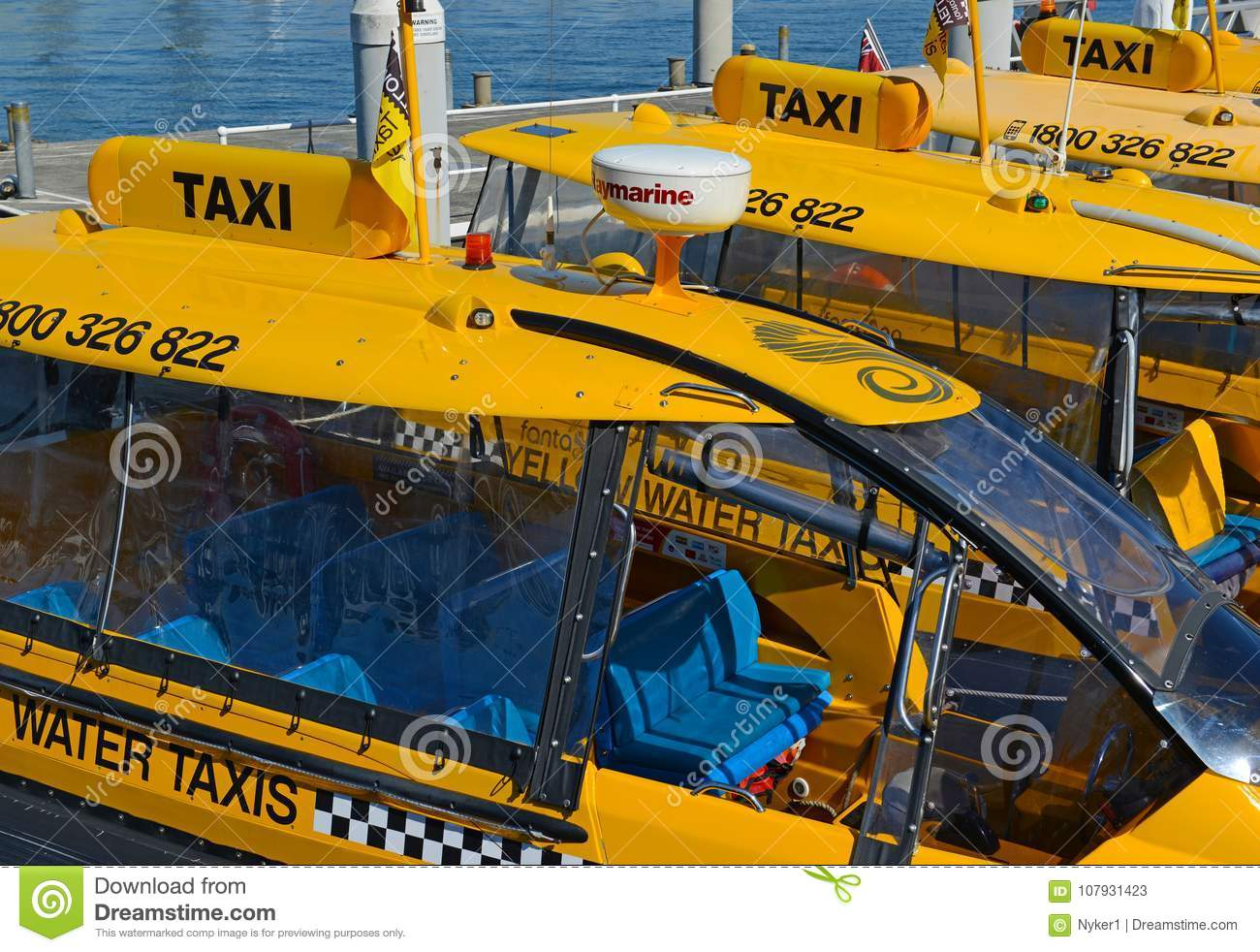 Water Taxi In Sydney Harbour, Australia Editorial Stock Photo