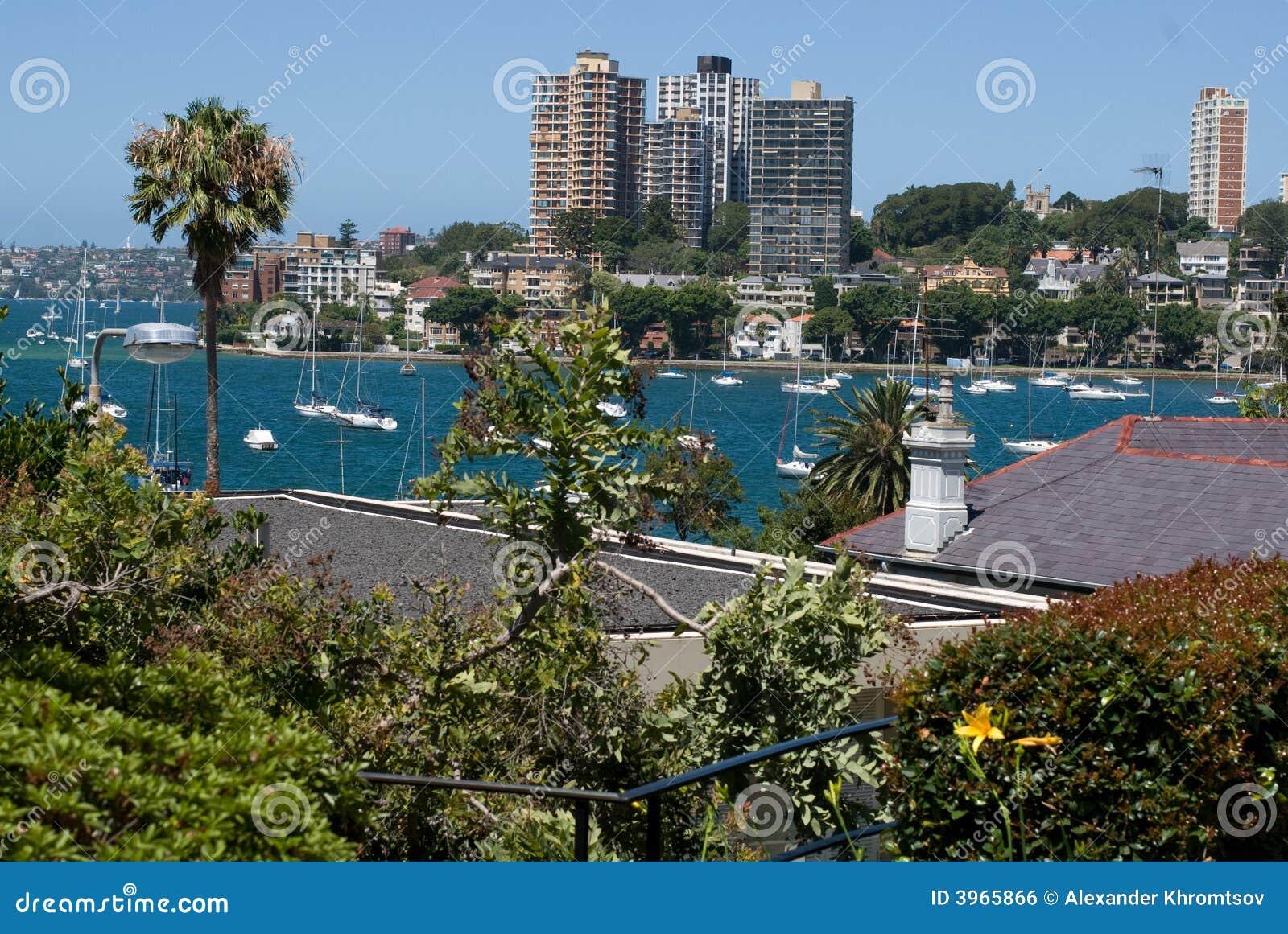 Sydney city seafront