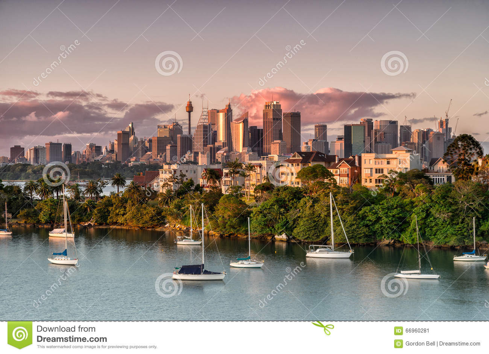Sydney de la bahía de Mosman