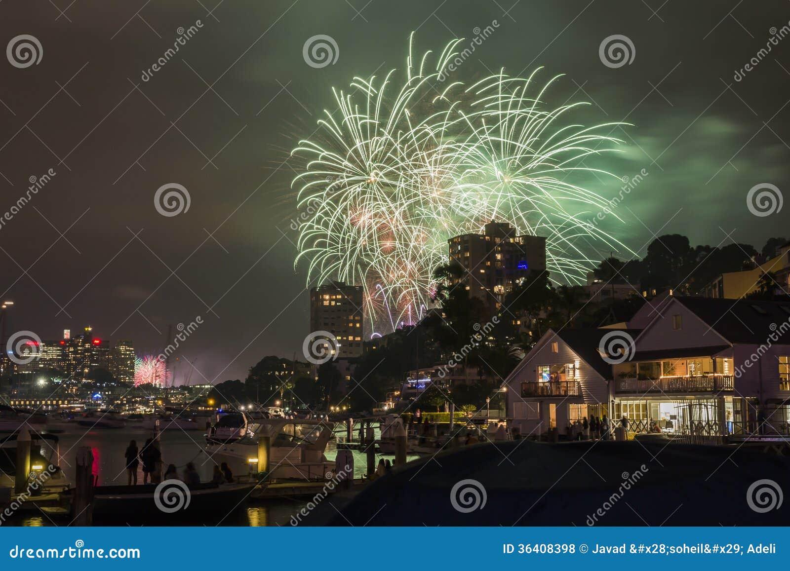 Sydney 2014 Feuerwerke