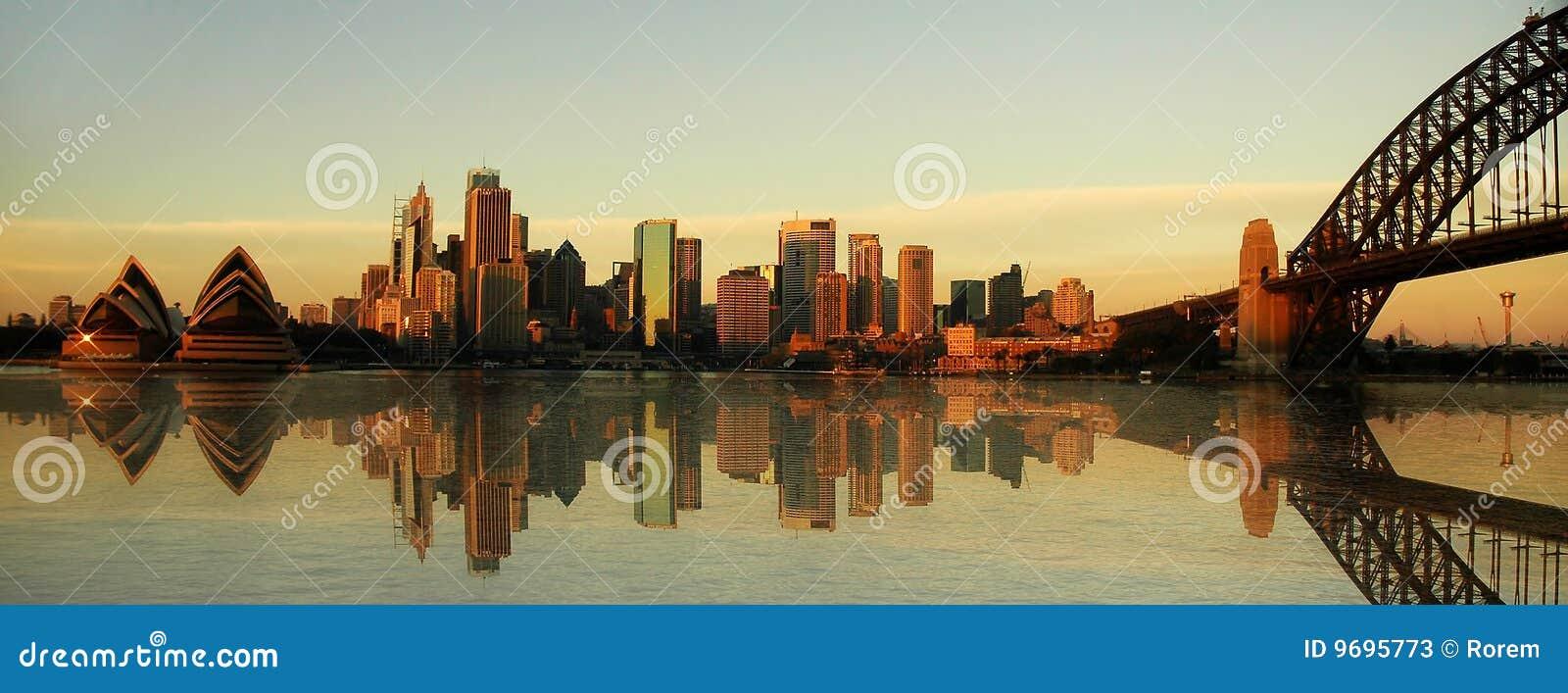 Sydney-Grenzsteinpanorama