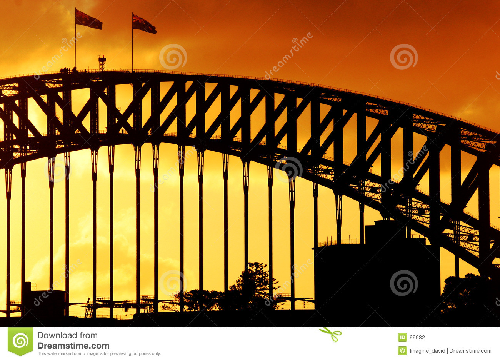 Sydney-Hafen-Sonnenuntergang