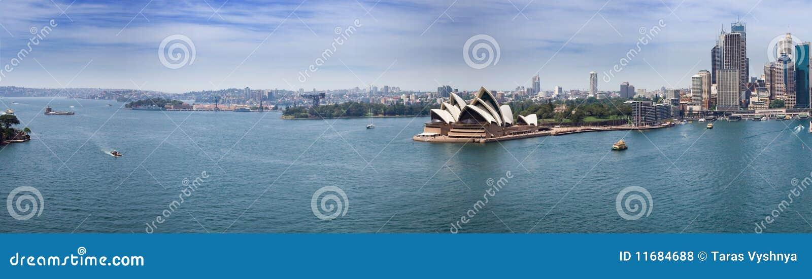 Sydney-Hafenpanorama
