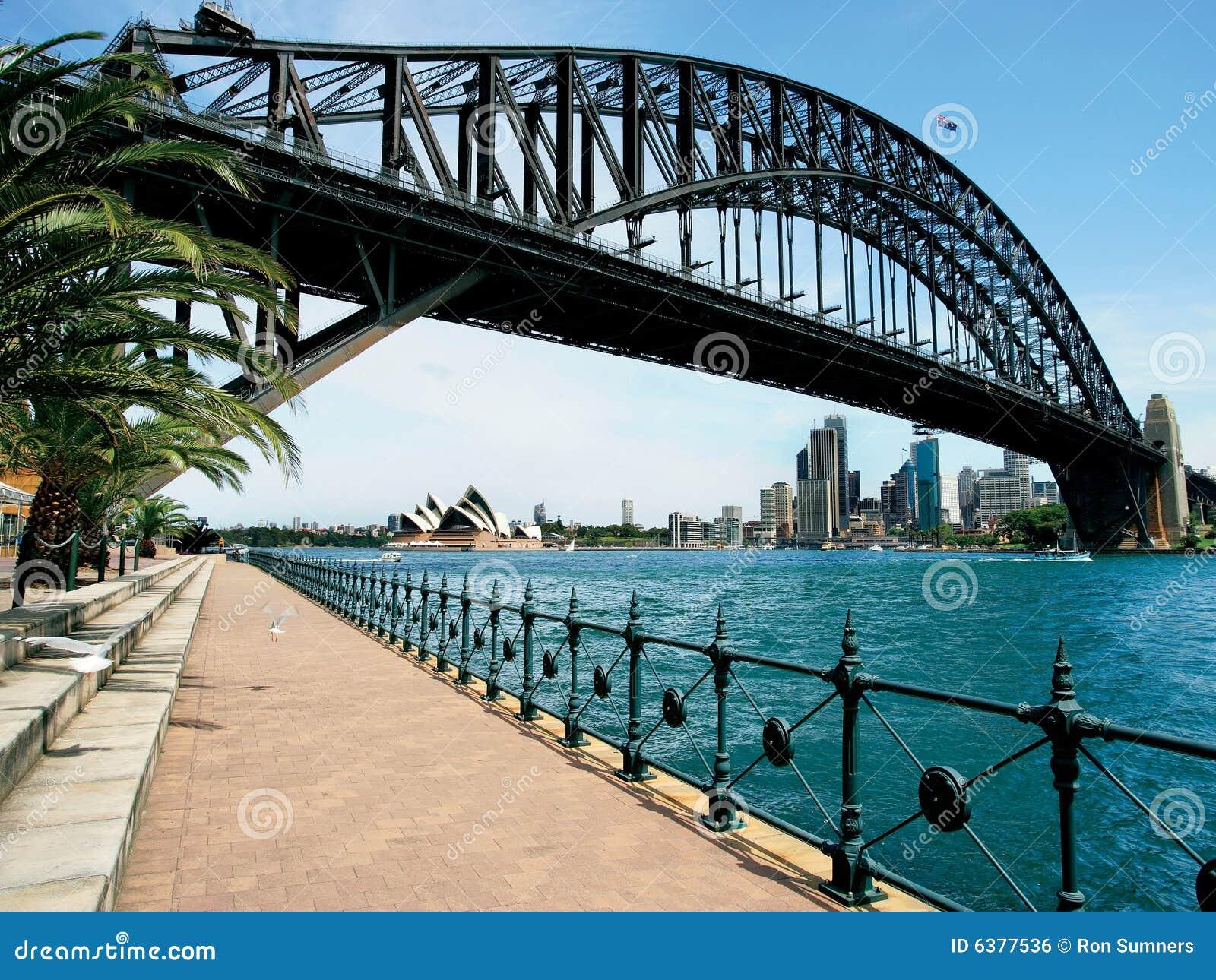 Download Sydney Harbour Bridge stock photo. Image of summer, water - 6377536