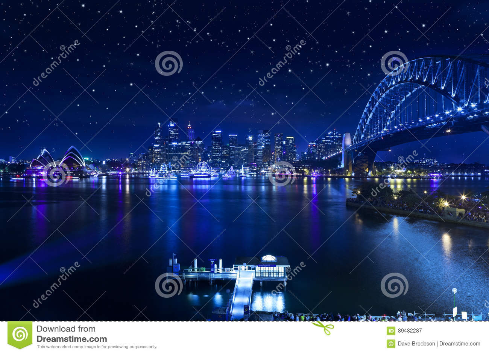 Sydney Harbour Bridge Stars