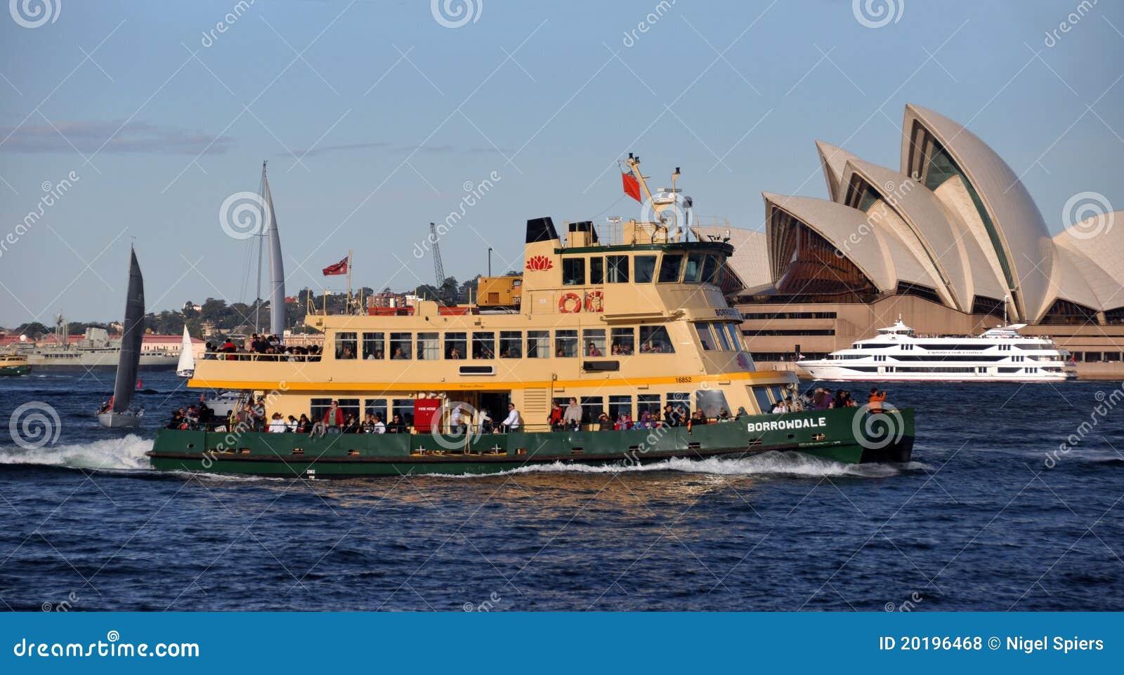 Sydney Harbour Ferry Boat Australia Editorial Stock Photo - Image: 20196468