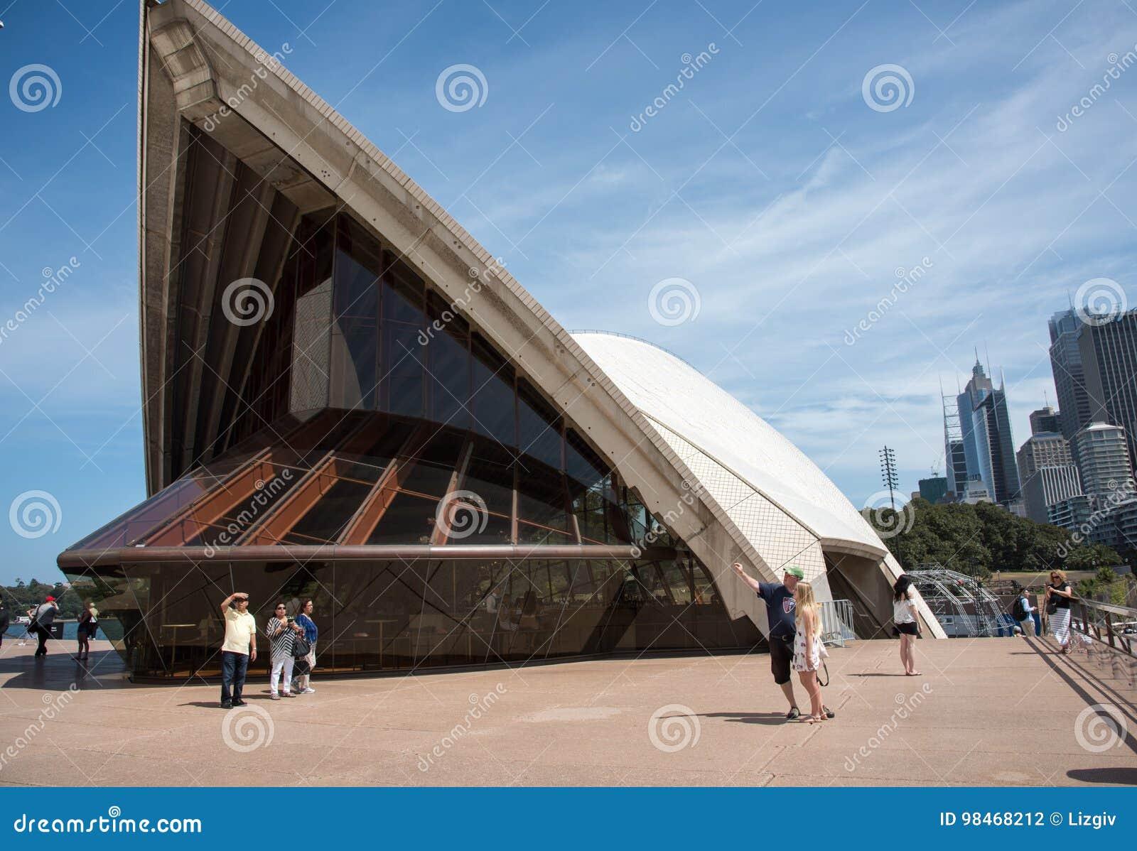 Sydney opera: Architektoniczny szczegół