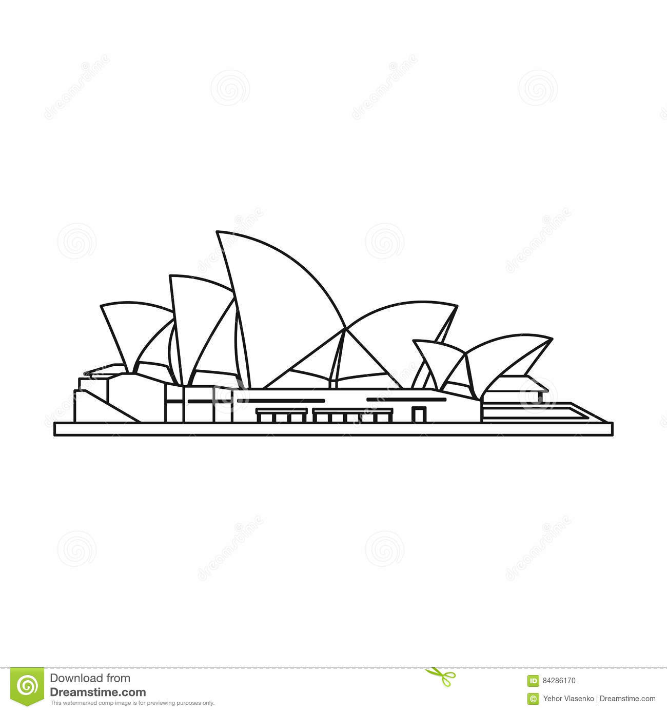 House outline picture - Countries Design House Icon Illustration Isolated Opera Outline