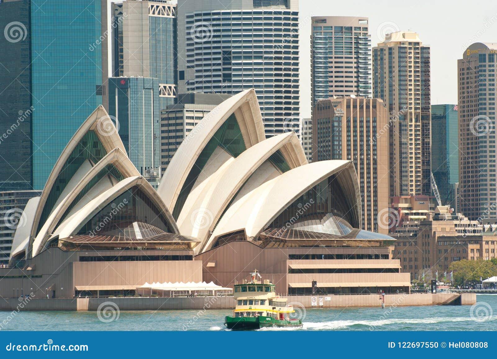 Sydney opera z promem