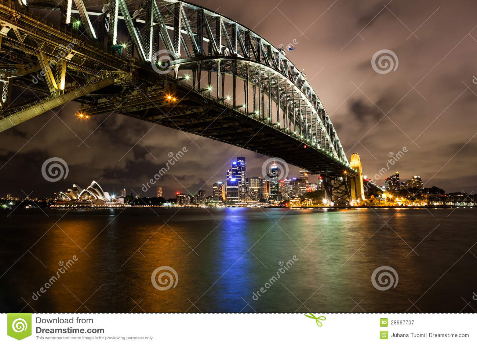 Sydney schronienie przy nocą