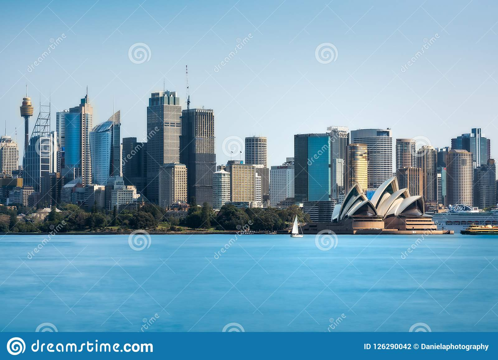 Sydney Skyline - Daytime View from Cremorne Point