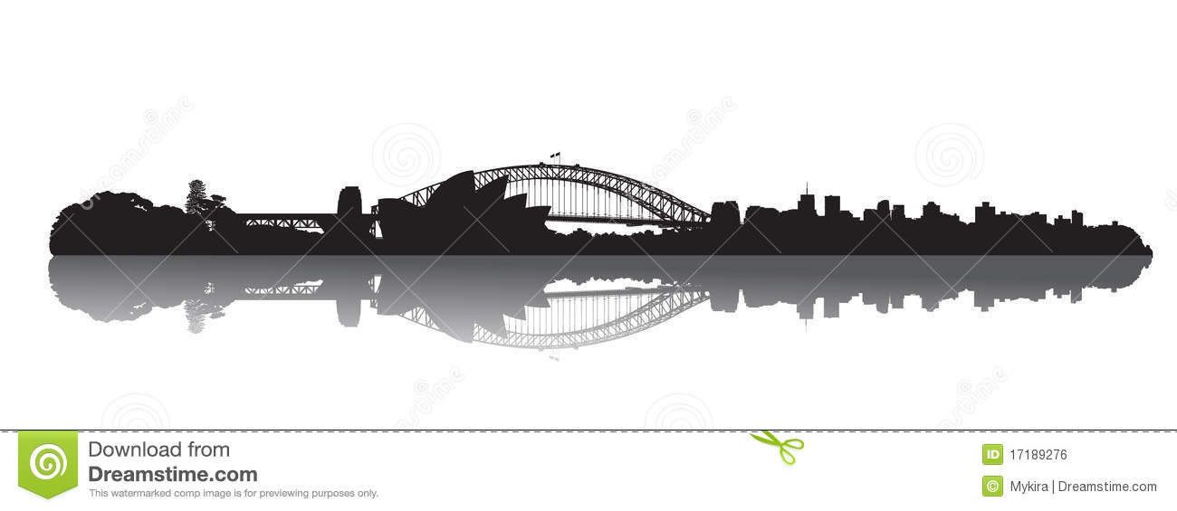 Download Sydney Skyline : Opera And Harbour Stock Vector - Illustration of australia, famous: 17189276