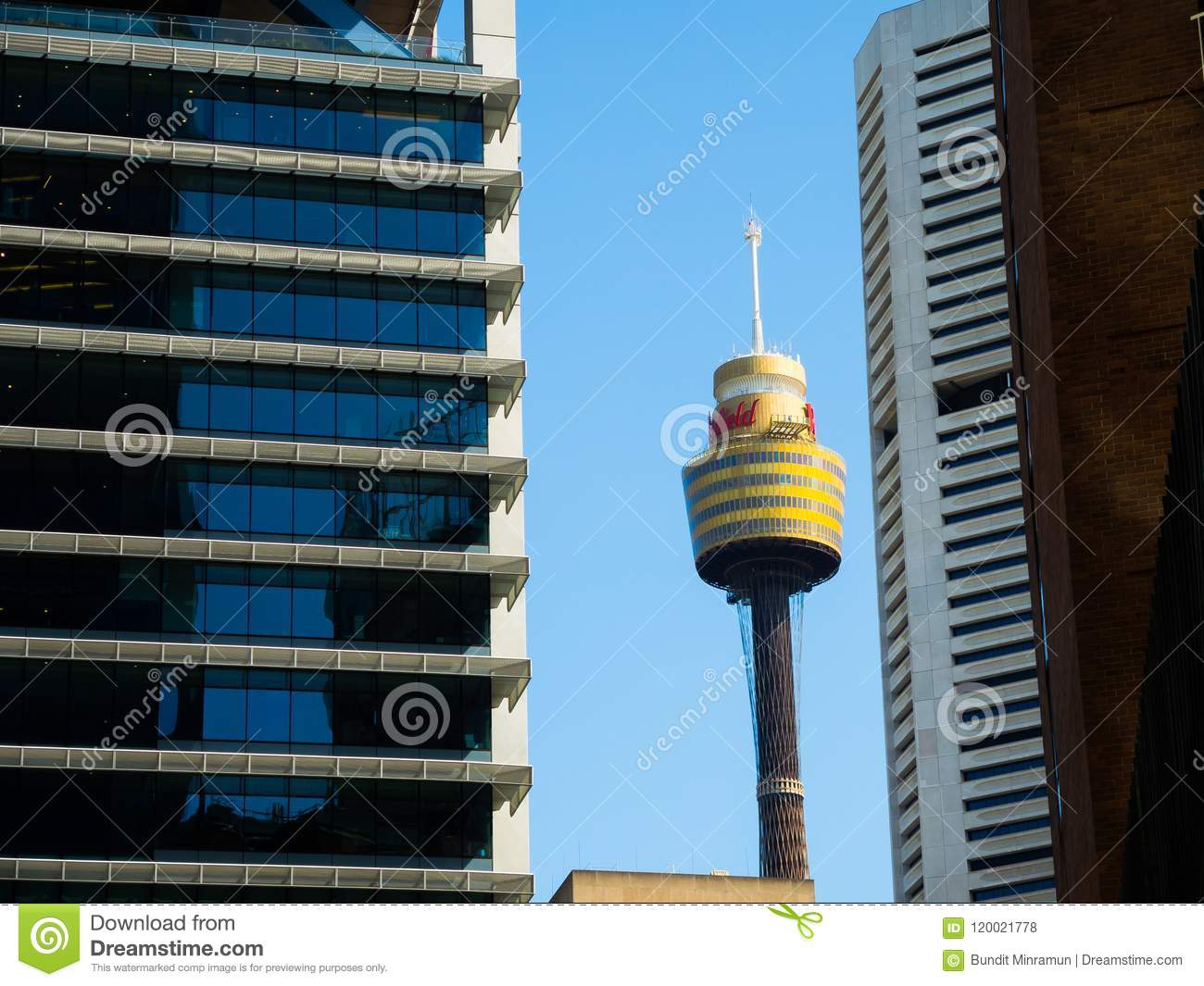 Sydney tower eye is the second tallest observation tower in the Southern Hemisphere.