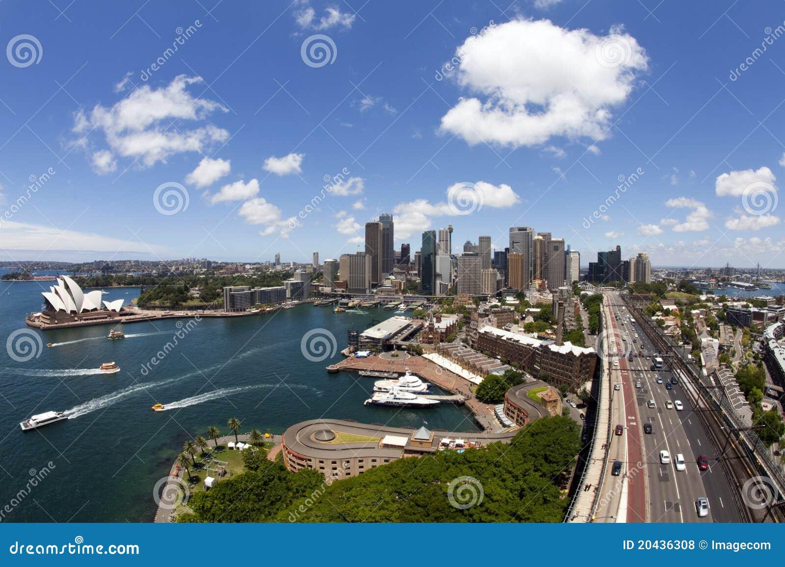 Sydney y el teatro de la ópera