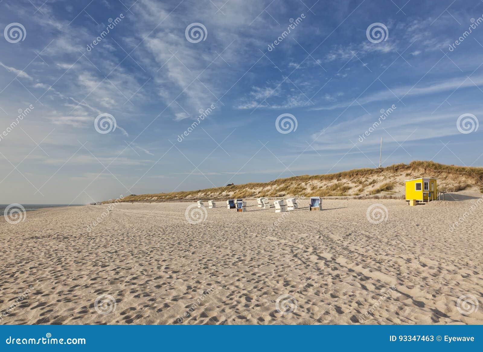 Sylt North Sea beach