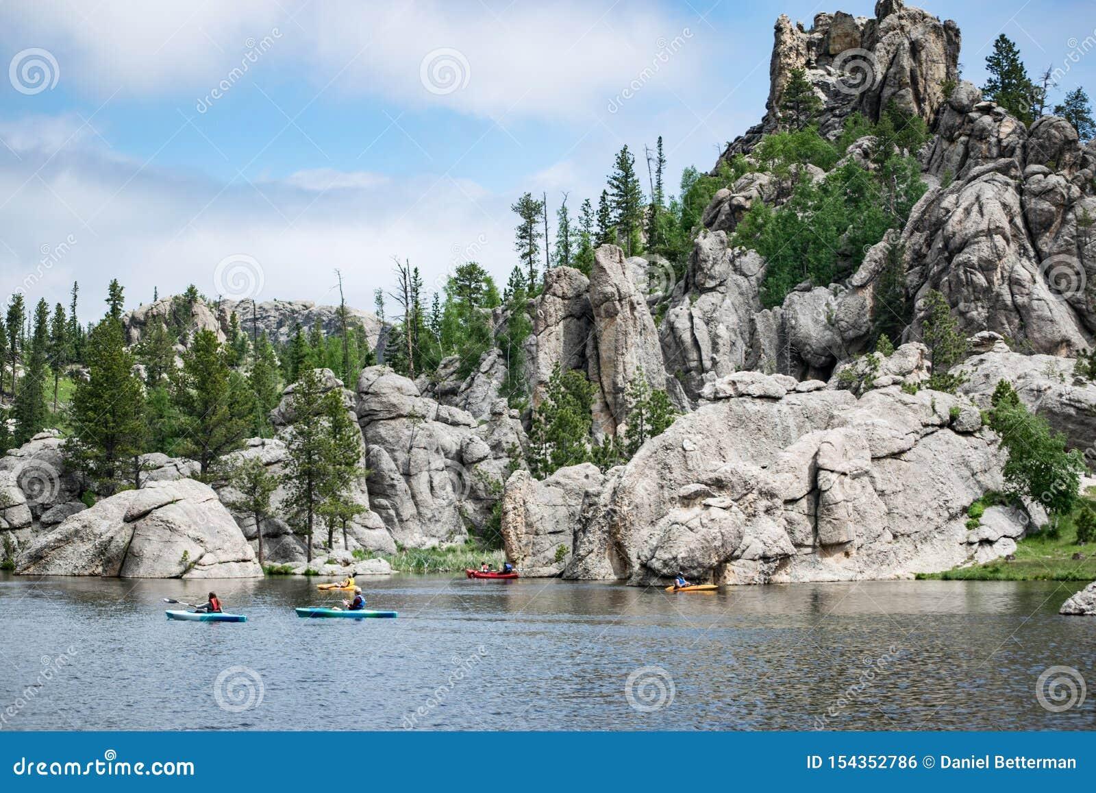 Sylvan Lake Kayakers