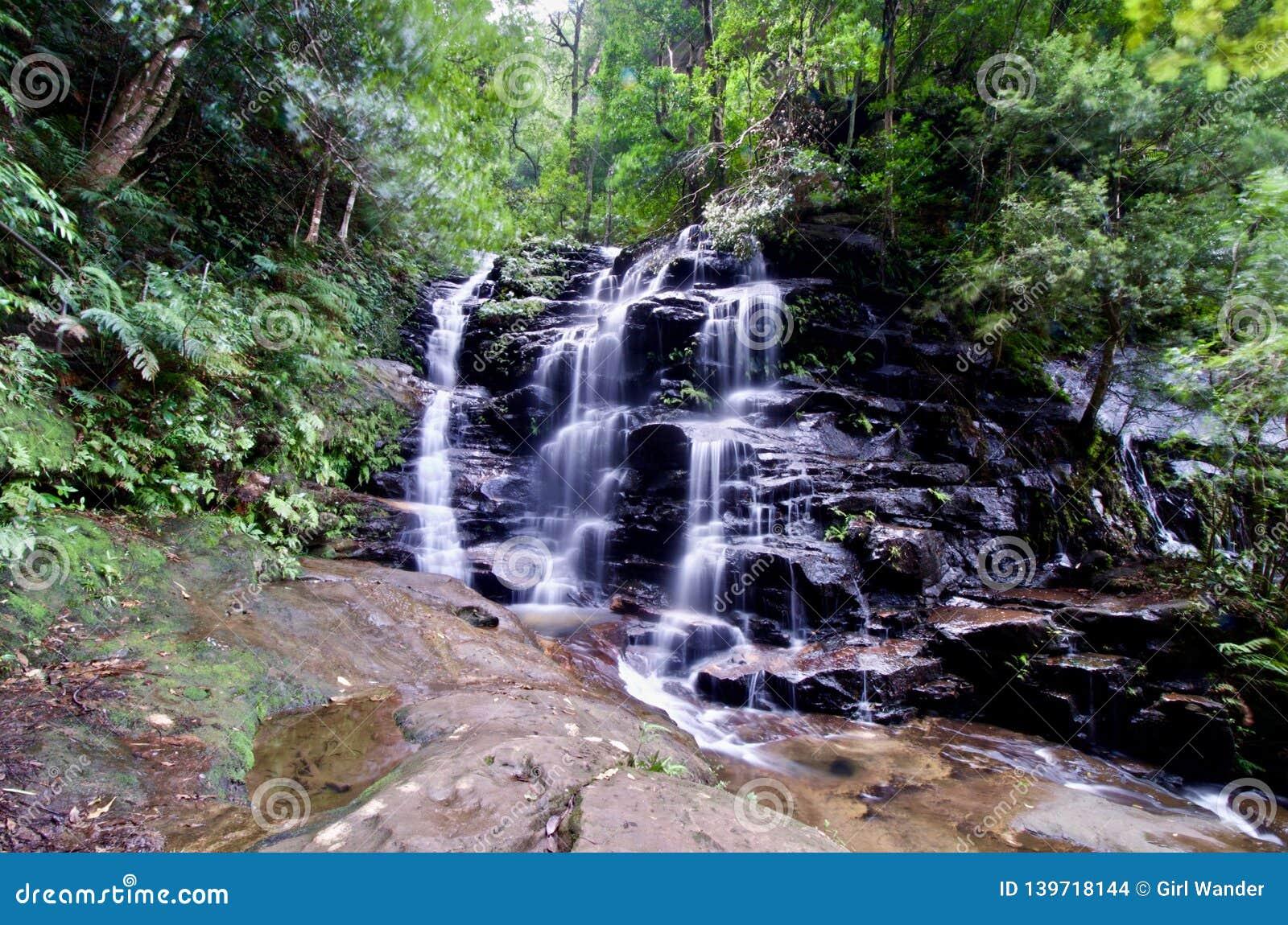 Sylvia Falls - NSW, Australië