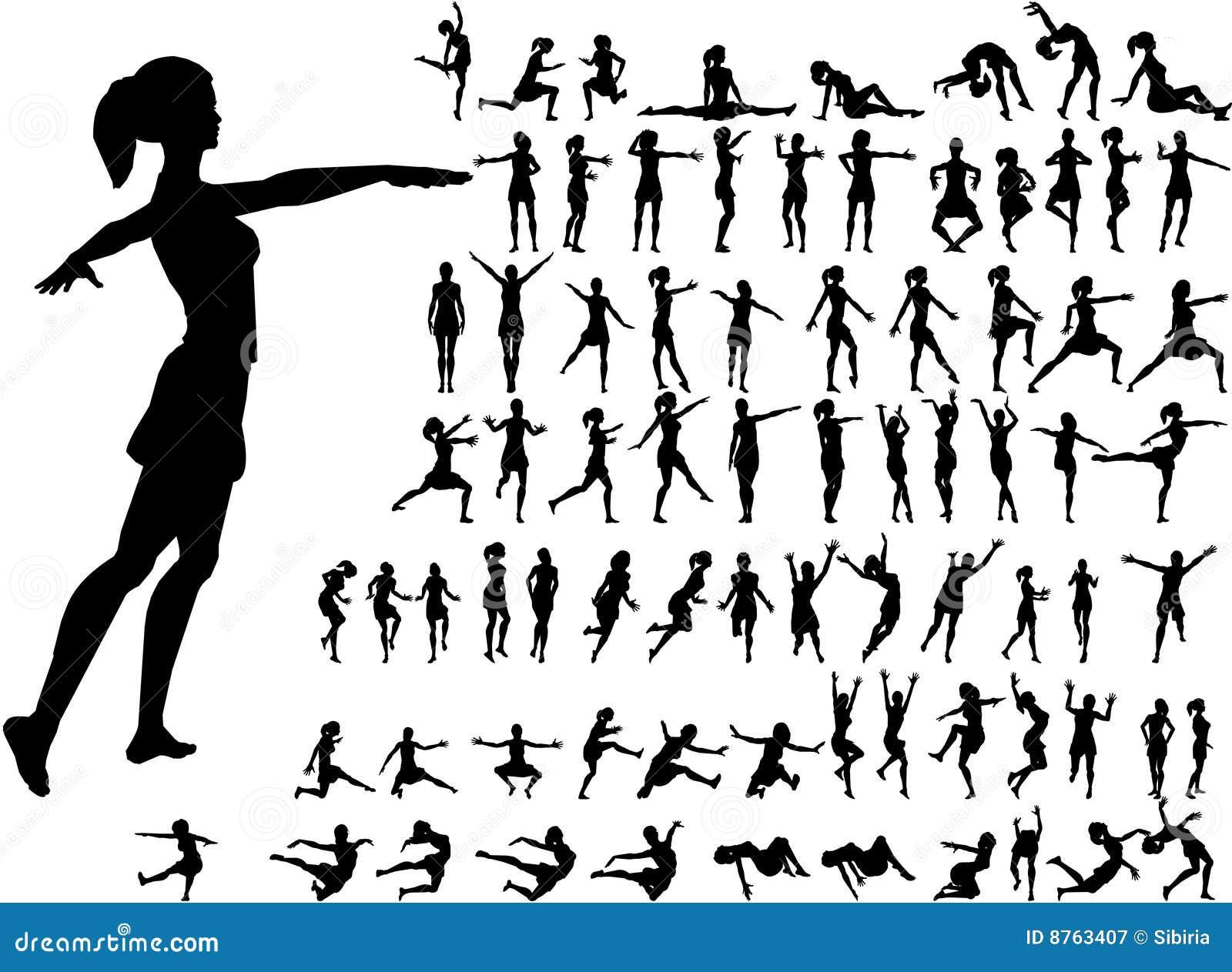 Sylwetek 79 aktywnych kobiet