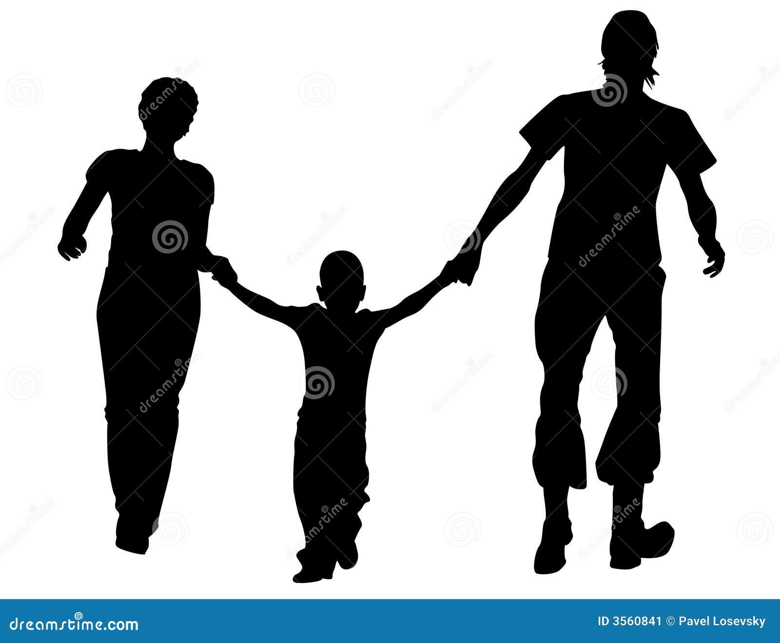 Sylwetka dla rodziny