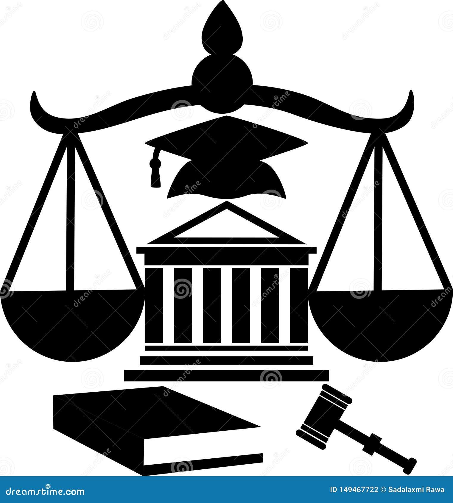 Sylwetka gmach sądu legalna pomoc