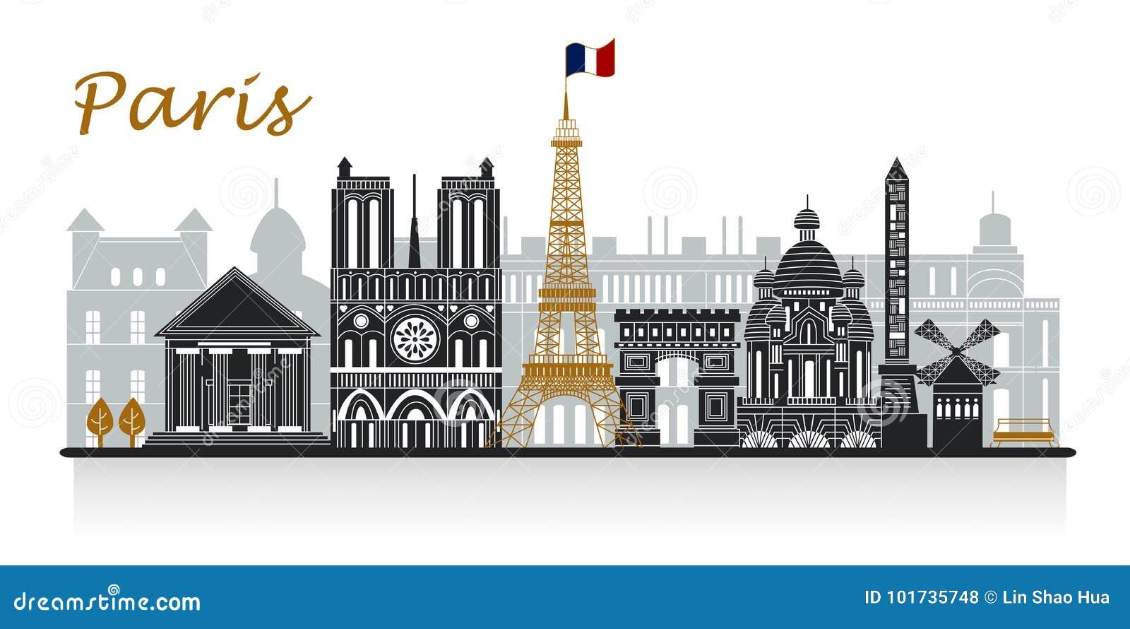 Sylwetka Paris