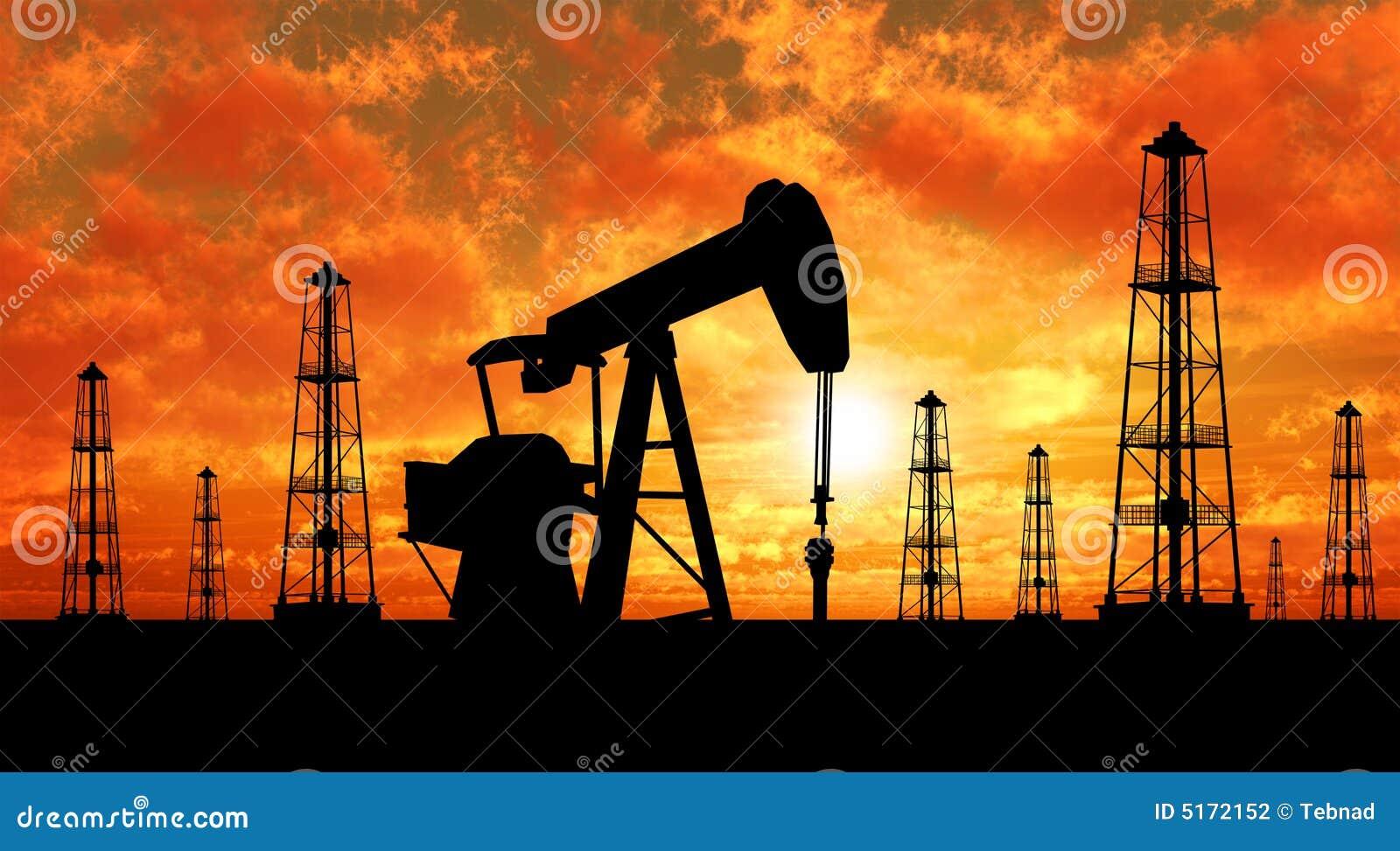 Sylwetka takielunków pomp oleju