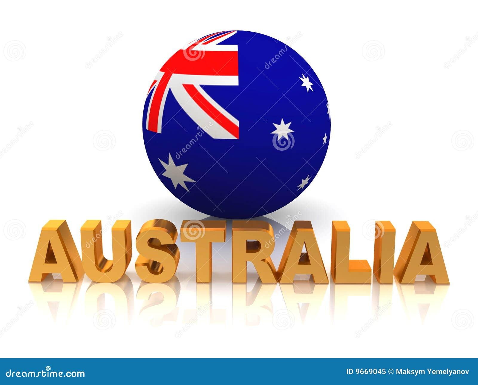 Symbol Of Australia Stock Illustration Illustration Of Patriotism
