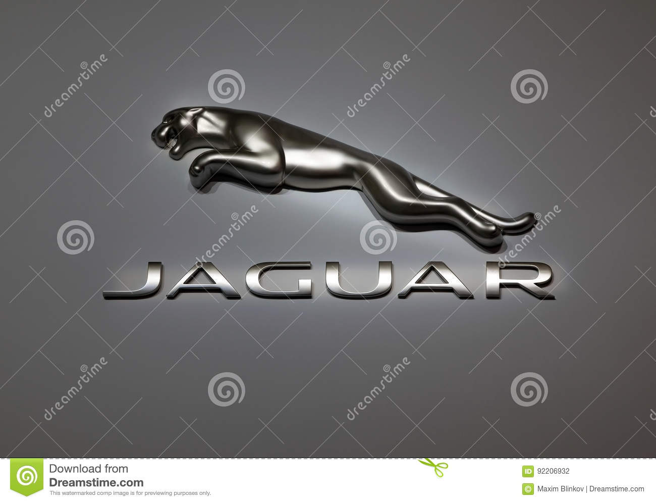Symbol Of Automobile Company Jaguar Editorial Photography Image Of