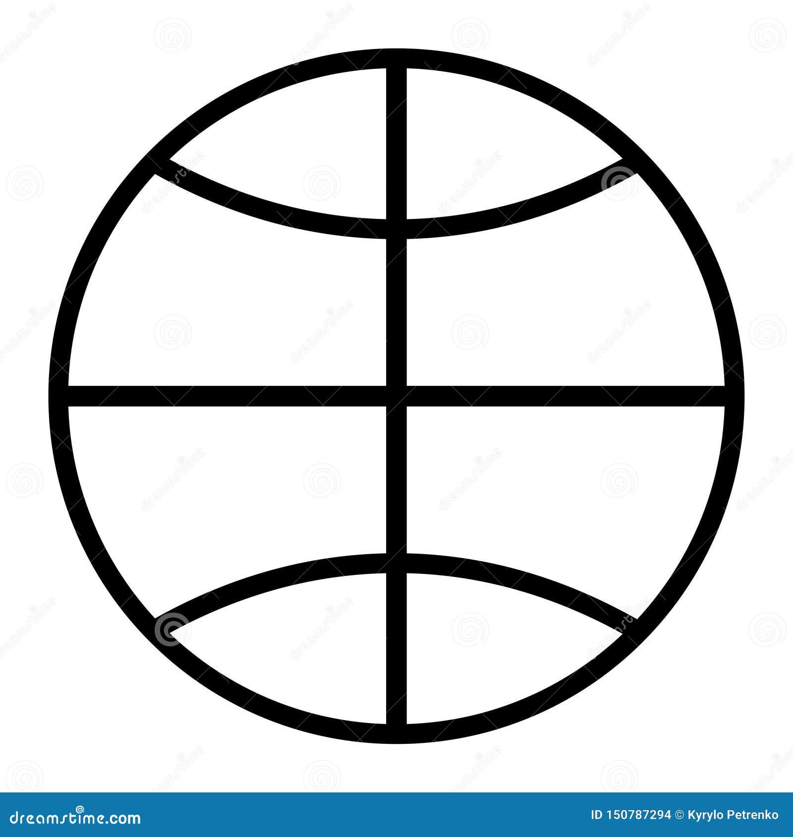 Symbol av den vita bakgrunden för jordjordklot