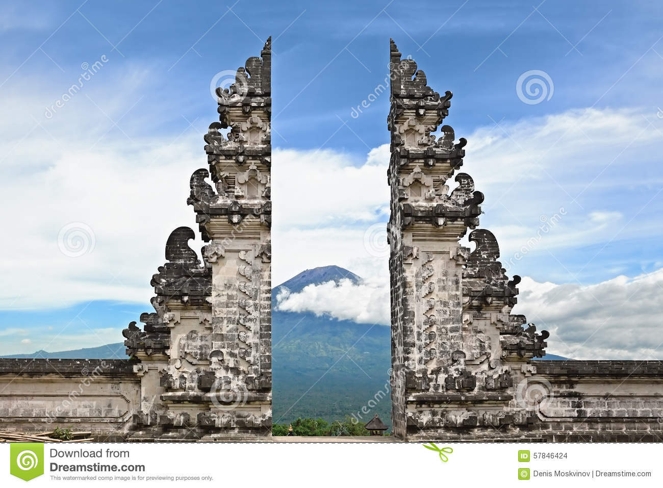 Symbol bali hindu temple on agung mount background stock photo symbol bali hindu temple on agung mount background biocorpaavc Gallery