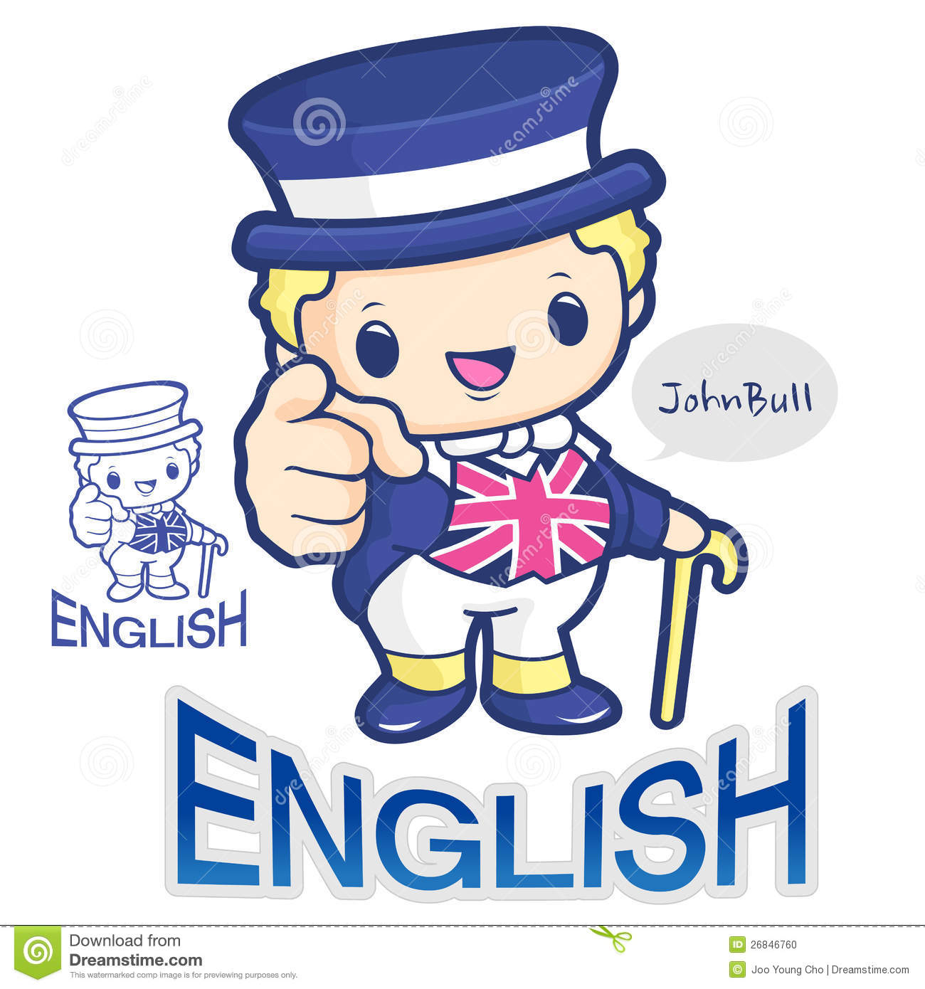 symbol of literature royalty stock images image  a symbol of british john bull character stock photo