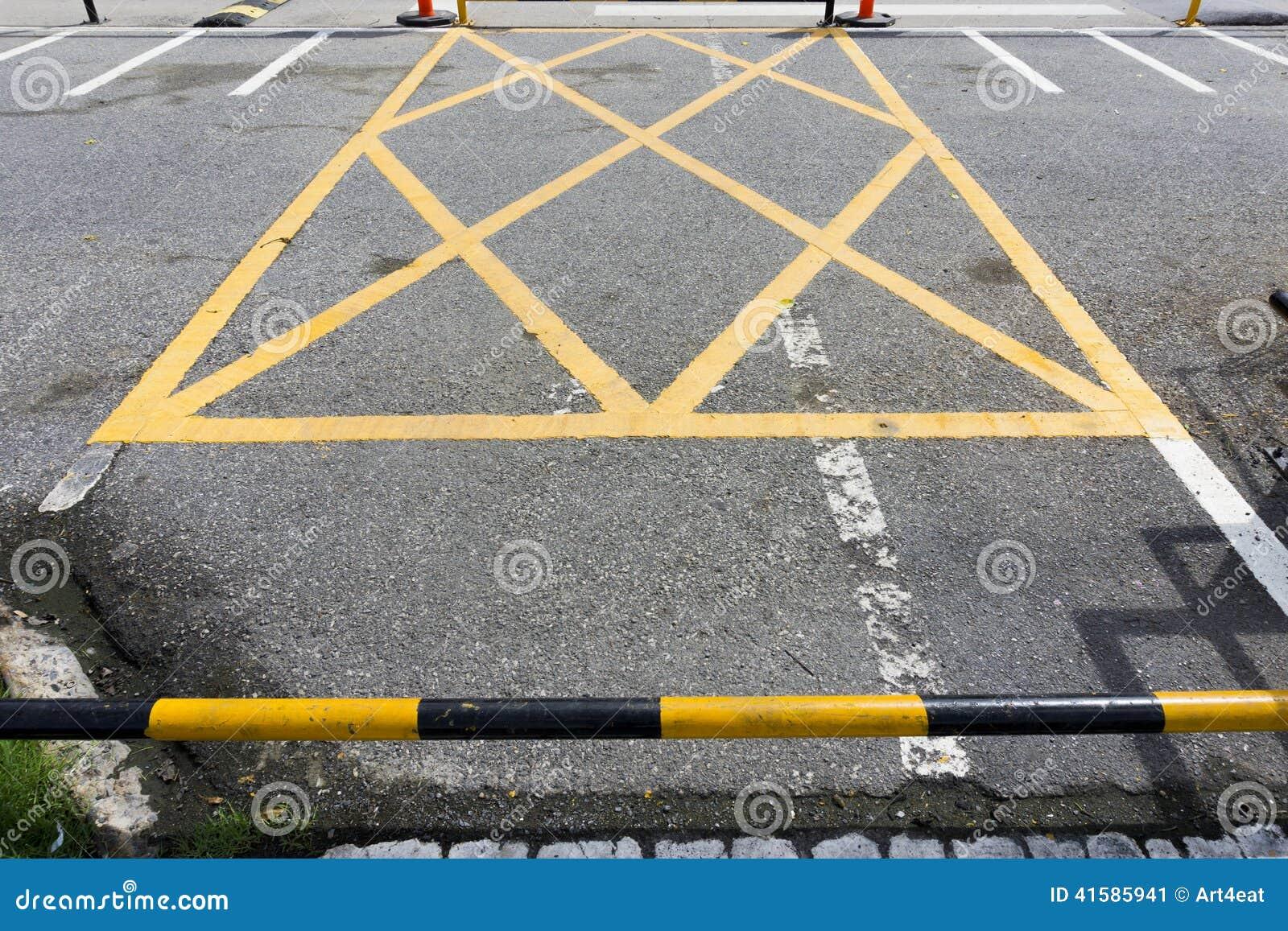 Symbol In Car Park Stock Image Image Of Park Traffic 41585941