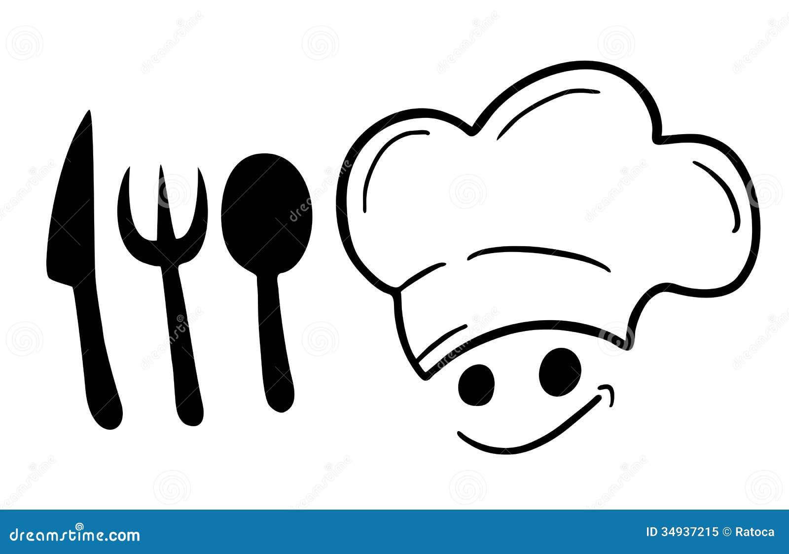 Symbol Chef Royalty Free Stock Photo - Image: 34937215