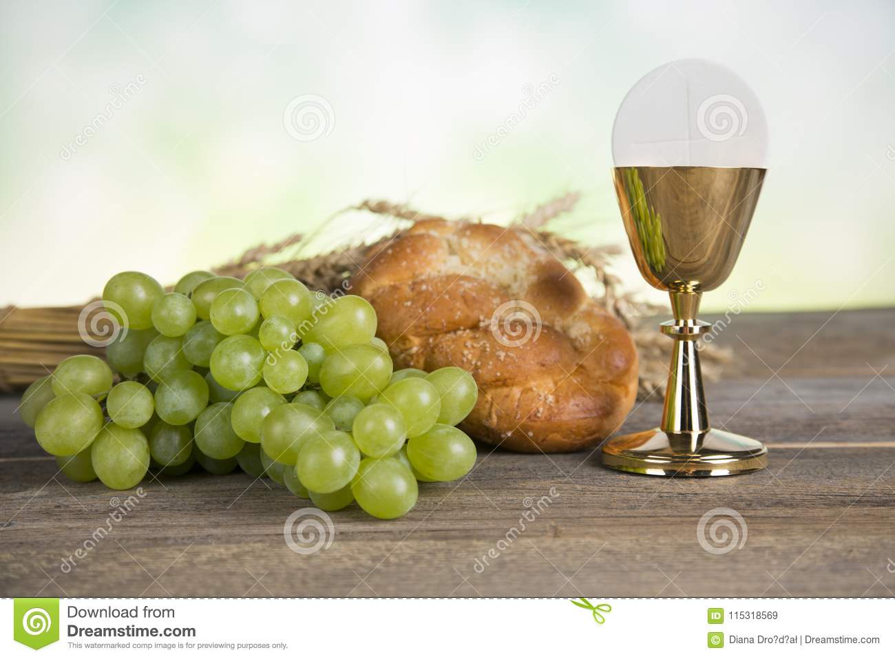 First Holy Communion Stock Image Image Of Celebration 115318569