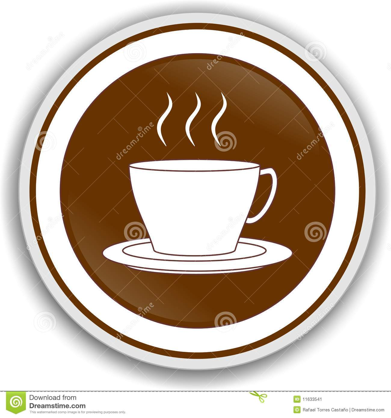 Symbol Coffee Stock Illustration Illustration Of Aromatic