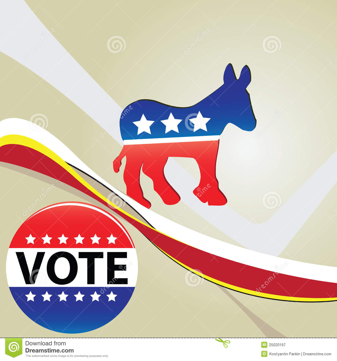 The symbol of the democratic party of the usa editorial stock symbol democratic party royalty free stock photography buycottarizona